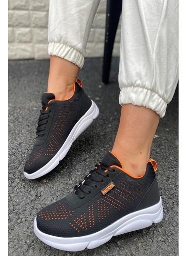 İnan Ayakkabı Unısex Sneakers Siyah